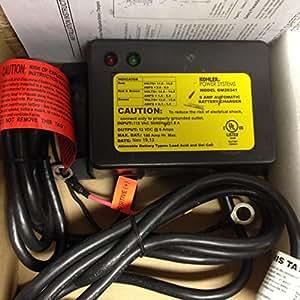 Amazon.com: KOHLER GM28341 Charger, Battery 12V-6A Float