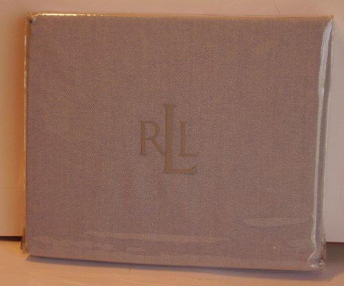 RALPH LAUREN Blue OXFORD University TWIN XL BEDSKIRT