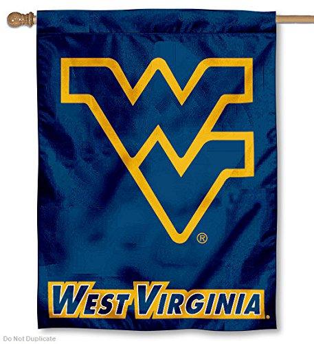West Virginia University WVU Mountaineers House Flag