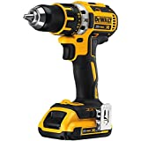 DEWALT DCD790D2 20V MAX XR Lithium-Ion Brushless Compact Drill/Driver Kit