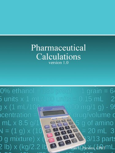 Pharmaceutical calculations zatz
