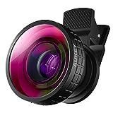 AUKEY 180°魚眼レンズ スマホ カメラレンズ クリップ式 iPhone、Samsung、Sony、Androidスマートフォン、タプレットなどに対応 PL-F2