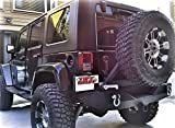 Tuff Stuff Rear Bumper and Tire Carrier for Jeep Wrangler JK