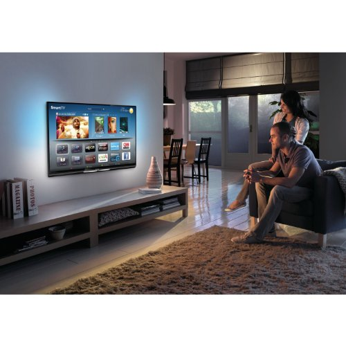 fernseher g nstig kaufen philips 47pfl6007k 12 119 cm 47 zoll ambilight 3d led backlight. Black Bedroom Furniture Sets. Home Design Ideas