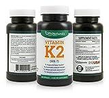 Vitamin K2 MK-7 100mcg 60 Kapseln von Phi Naturals