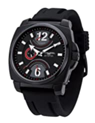 Jorg Gray Leather Multifunction Black Dial Men's watch #JG1040-19