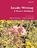 img - for Inside Writing: A Writer's Workbook, Form B book / textbook / text book