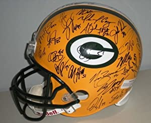 2012 Green Bay Packers Team Signed Autographed Full Size Helmet Authentic Certified...