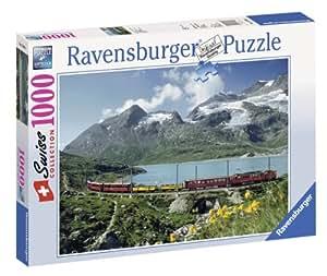 Ravensburger 15366  - En el Lago Bianco en el Paso de Bernina - 1000 rompecabezas pieza