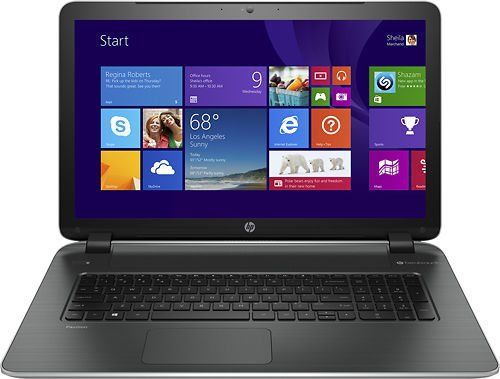 HP Pavilion 17-f114dx 17.3-Inch Notebook (3.1 GHz Intel Core i7-4510U Processor, 6GB DDR3L, 750GB HDD, Windows 8.1)