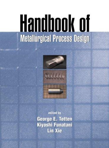Handbook Of Metallurgical Process Design (Materials Engineering)