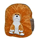 Rushi Enterprise Dog Cute Teddy Soft Toy School Bag For Kids, Travelling Bag, Carry Bag, Picnic Bag, Teddy Bag...