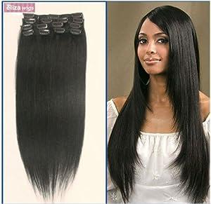 Kit extensions a clips cheveux 100 naturels
