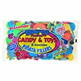 Unique Pinata Filler Candy and Toys, 2-Pound, Assorted Colors