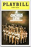 img - for A Chorus Line Playbill for the Original Broadway Production - Conceived, Choreographed, and Directed by Michael Bennett - Shubert Theatre - Vol. 3, No. 3 book / textbook / text book