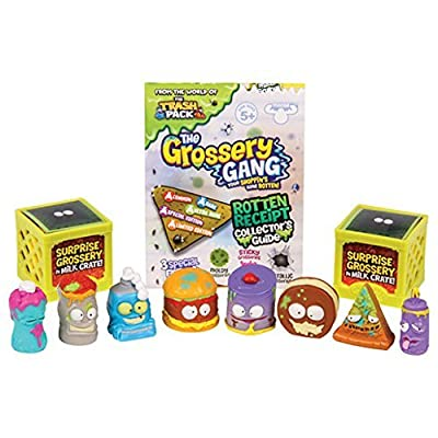 """Grossery Gang GGA06000 """"Series 1"""" Figure (Pack of 10)"""