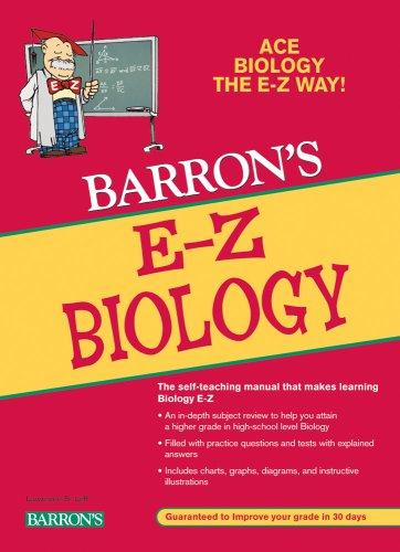 Barron's E-Z Biology (E-Z Series)