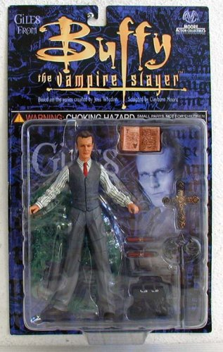 Picture of Moore Action Collectibles Buffy the Vampire Slayer Rupert Giles Action Figure - Anthony Stewart Head (B000LRA1M4) (Moore Action Collectibles Action Figures)