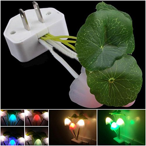 1Pc Important Night Light Romantic Gift Home Decor Colorful Multi-Color Changing with US Plug