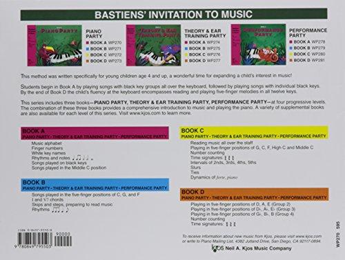 Bastiens' Invitation to Music: Piano Party Book A