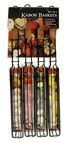 Charcoal Companion Kabob Grilling Baskets