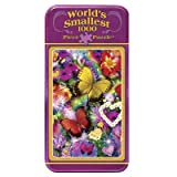 MasterPieces World's Smallest Tin Butterfly Love Jigsaw Puzzle, 1000-Piece