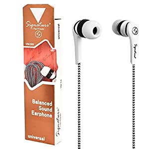 Signature Earphone For Iphone,Samsung ,Xiaomi,Lenovo Smartphones With Mic For Xiaomi Redmi Note 3