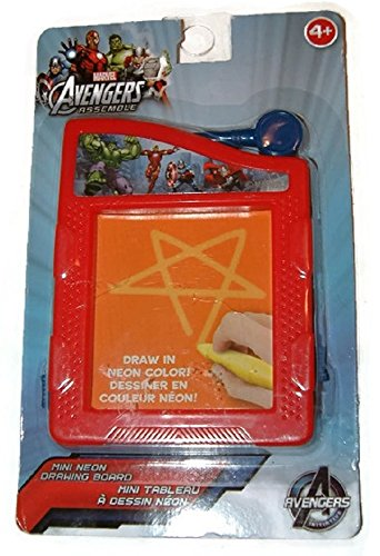 Marvel Avengers Assemble Mini Neon Drawing Board