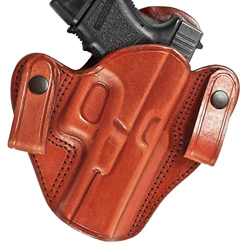 Tagua DSH-992 S&W Model 6906 Dual Snap Holster, Brown, Right Hand (Gun Holster For Model 6906 compare prices)