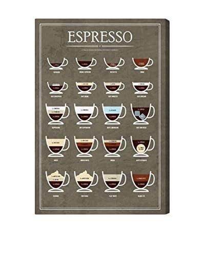 Oliver Gal Hatcher & Ethan 'Espresso Guide' Canvas Art