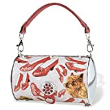 Wizard of Oz Ruby Slippers & Toto Cylinder Tote