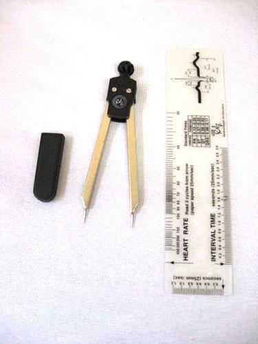 EKG Caliper and EKG Ruler