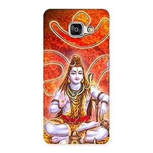 Cute Shiv Omkara Multicolor Back Case Cover for Galaxy A3 2016