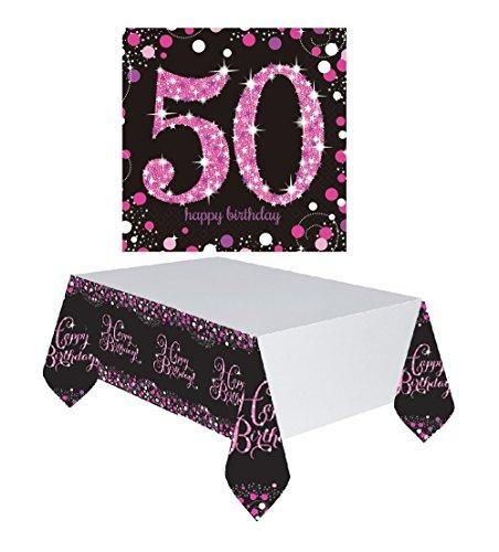 tischdekoration 16x servietten 1x tischdecke dekoration. Black Bedroom Furniture Sets. Home Design Ideas