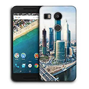 Snoogg Japan City Printed Protective Phone Back Case Cover For LG Google Nexus 5X