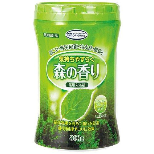 D2オリジナル 薬用入浴剤 森の香り 800g