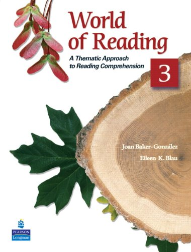 World of Reading 3: A Thematic Approach to Reading...