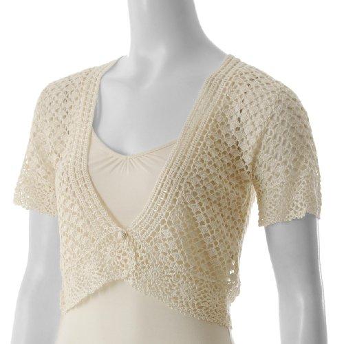 Free Crochet Pattern Womens Bolero : CROCHETED SHRUG PATTERNS Patterns