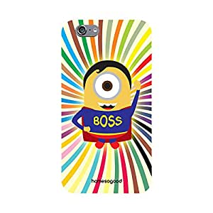 HomeSoGood The Cartoon Boss Multicolor 3D Mobile Case For iPhone 6 (Back Cover)