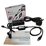 Bipra USB 2.0 to SATA/IDE Adapter Kit with Power Adapter for 2.5/3.5/5.25 Inch SATA or IDE Drive