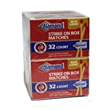 10 Pack - Diamond Strike on Box 32 Count Matches