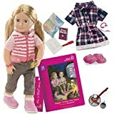 Our Generation Dolls Shannon Deluxe Rv Doll With Book