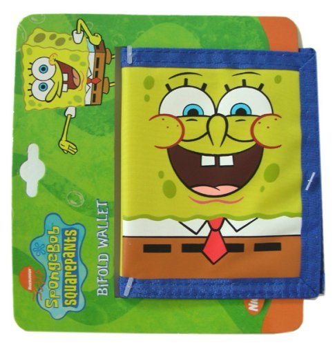 Nick Jr Spongebob Bifold Wallet for Kids