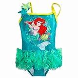 Disney(ディズニー) Ariel Deluxe Swimsuit for Girls アリエルの水着 (7/8(日本サイズ6-8才121.9cm-137.1cm)) [並行輸入品]