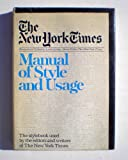 New York Times Manual of Style (0812905784) by Lewis Jordan