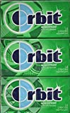 Wrigley's Orbit Spearmint Sugar Free Gum - 12 Packs of 14 Pieces