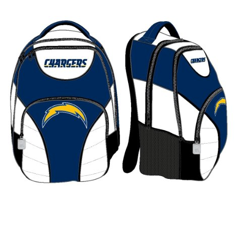 San Diego Chargers Backpack: San Diego Chargers Adult Size NFL Backpack