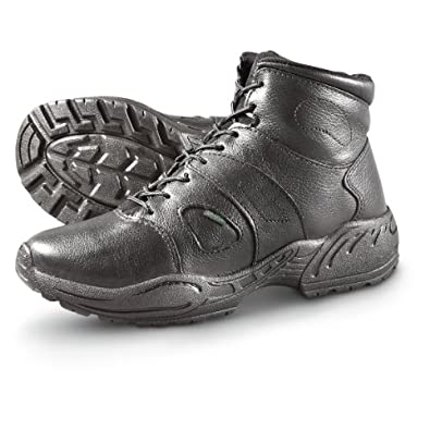 Rocky TMC Mens Black Leather Postal Approved Cross Trainer Ankle Boots 7 M