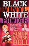 Black Vinyl White Powder