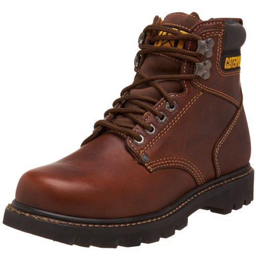 "Caterpillar Men'S 2Nd Shift 6"" Plain Soft Toe Boot,Tan,12 M Us"